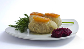 Gefilte fish for Rosh Hashanah served with carrot and horseradish. At the time of Mishna (200 CE) rabbis deemed it meritorious to eat fish on the Sabbath. Gefilte fish has been called the quintessential Jewish food on Winter Shabbat menus. Panache Catering by Foodarama is Kosher Certified caterers who Cater Rosh Hashanah. Order Early for Guaranteed delivery. We deliver to Princeton New Jersey, Mainline Delaware County Philadelphia, Mercer County, Burlington County, Camden County, Gloucester County, Philadelphia County, Montgomery County, Bucks County and Delaware County
